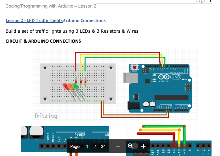 STEM: ARDUINO COURSE: CANVAS